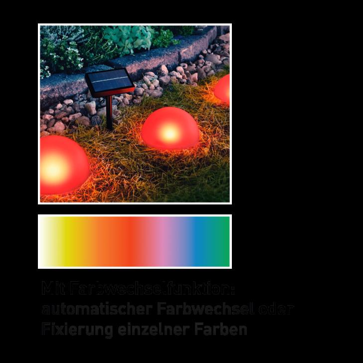 Medium Size of Solarkugeln Aldi Solar Bodenlichterkette Gnstig Bei Nord Relaxsessel Garten Wohnzimmer Solarkugeln Aldi