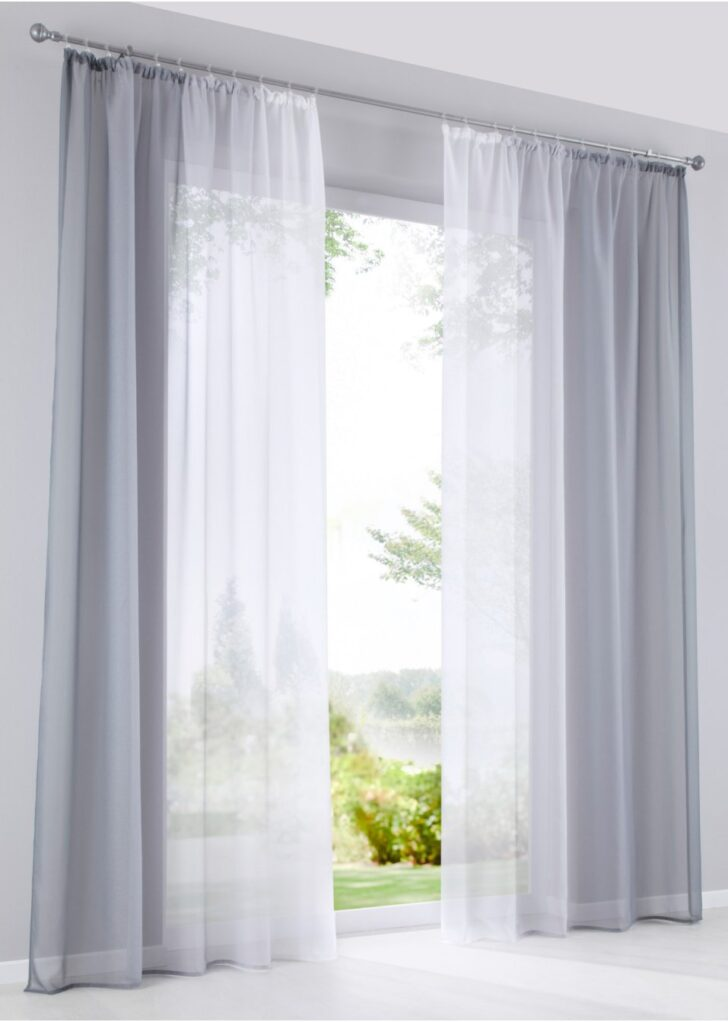 Medium Size of Farblicher Hingucker Fr Dein Fenster Grau Vorhänge Wohnzimmer Bonprix Betten Schlafzimmer Küche Wohnzimmer Bon Prix Vorhänge