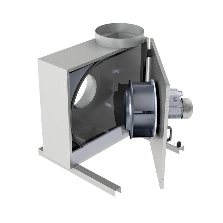 Medium Size of Küchenabluft Airbopro 4035 M Pro Stunde Kchenabluft Kchenabluftbox Wohnzimmer Küchenabluft