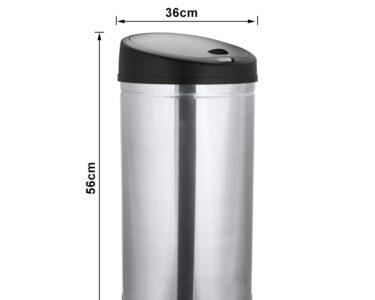 Abfallkübel Küche Wohnzimmer Abfalleimer Kche Mlleimer Mit Ir Sensor Mllbehlter Automatisch L Küche Elektrogeräten Led Beleuchtung Edelstahlküche Gebraucht Deckenleuchten Auf Raten