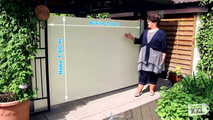 Medium Size of Paravent Balkon Bauhaus Seitenmarkise Leco Gartenxxl Youtube Fenster Garten Wohnzimmer Paravent Balkon Bauhaus