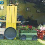 Spielküche Garten Wohnzimmer Spielküche Garten Im Wasserspa Und Eine Bepflanzte Eisenbahn Youtube Rattan Sofa Truhenbank Pavillon Pool Bauen Schaukel Für Wohnen Abo Wassertank Pergola