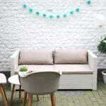 Gartensofa Tchibo Wohnzimmer Eine Gemtliche Gartenlounge Im Hof Zum Wohlfhlen Und Entspannen