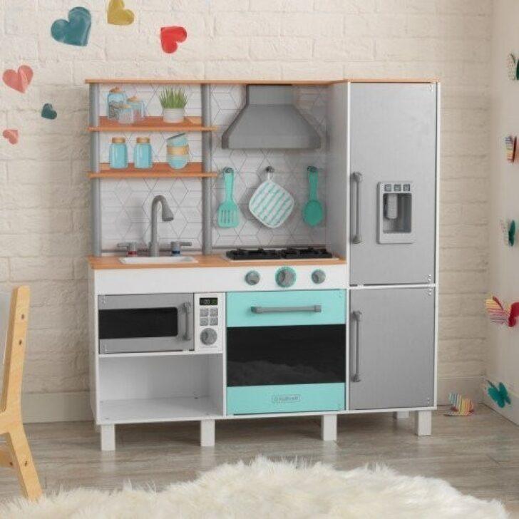 Spielküche Gourmet Chef Spielkche Mit Ez Kraft Assembly Kidkraft 53421 Kinder Wohnzimmer Spielküche