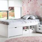 Bett 90x200 Weiß Weißes Mit Lattenrost Schubladen Betten Bettkasten Kiefer Und Matratze Wohnzimmer Jugendbett 90x200