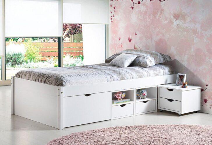 Medium Size of Bett 90x200 Weiß Weißes Mit Lattenrost Schubladen Betten Bettkasten Kiefer Und Matratze Wohnzimmer Jugendbett 90x200