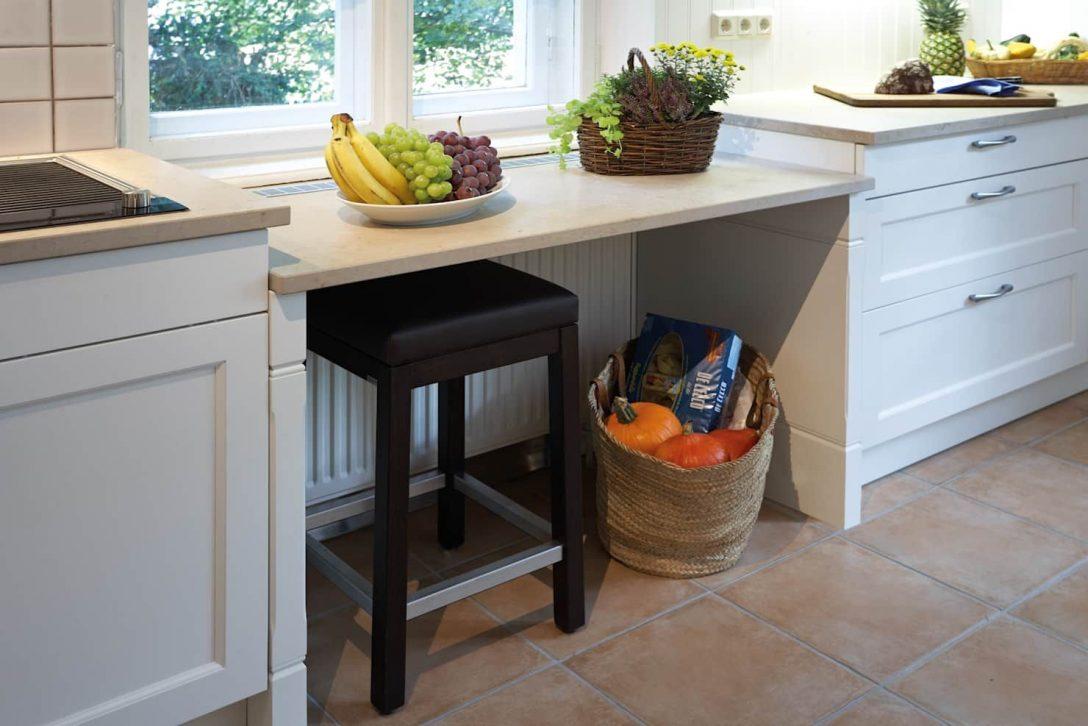 Large Size of Abgesenkte Arbeitsflche Unter Dem Fenster Von Kchen Quelle Küchen Regal Wohnzimmer Küchen Quelle