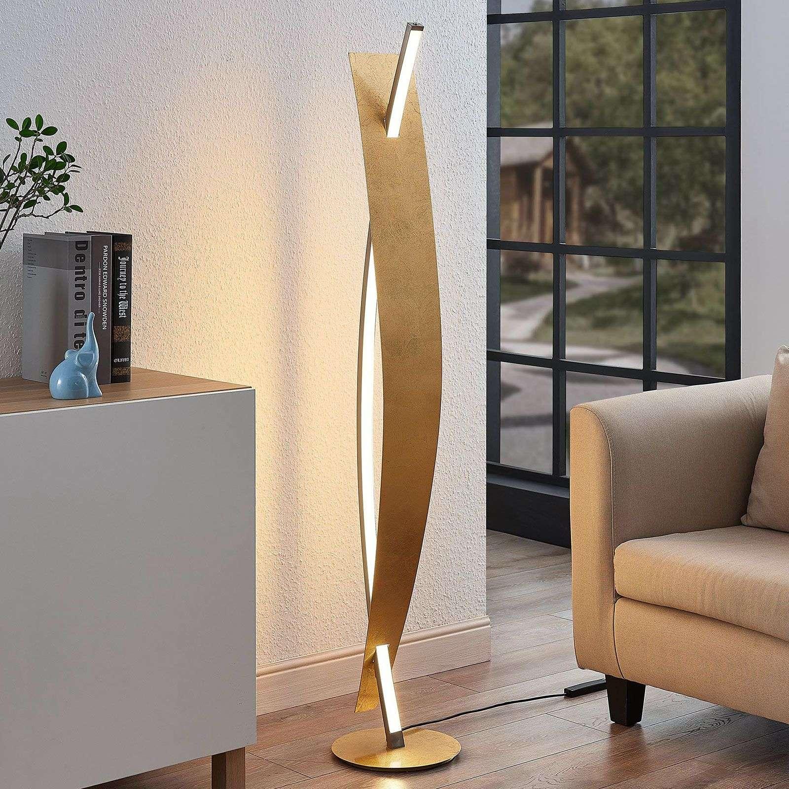 Full Size of Moderne Stehlampe Wohnzimmer Led Stehleuchte Marija Lampenwelt Gold Modern Heizkörper Hängeleuchte Deckenlampen Für Deckenleuchte Deko Bilder Fürs Wohnzimmer Moderne Stehlampe Wohnzimmer