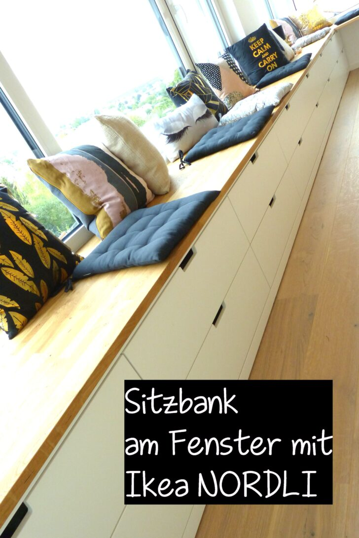 Medium Size of Ikea Hack Sitzbank Küche Eine Fest Verbaute Am Fenster Lsst Sich Mit Kommoden Der Unterschränke Einbauküche Weiss Hochglanz Nobilia Sitzgruppe Wohnzimmer Ikea Hack Sitzbank Küche