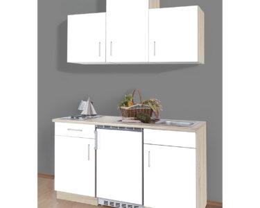 Roller Miniküche Wohnzimmer Singlekche Sonoma Eiche Wei 150 Cm Breit Online Bei Roller Ikea Miniküche Regale Mit Kühlschrank Stengel