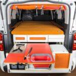 Ausziehbett Camper Wohnzimmer Peugeot Partner Alpin Camper Ein Fall Fr Zwei Bett Mit Ausziehbett