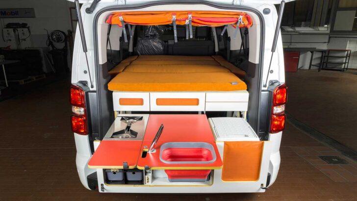 Medium Size of Peugeot Partner Alpin Camper Ein Fall Fr Zwei Bett Mit Ausziehbett Wohnzimmer Ausziehbett Camper