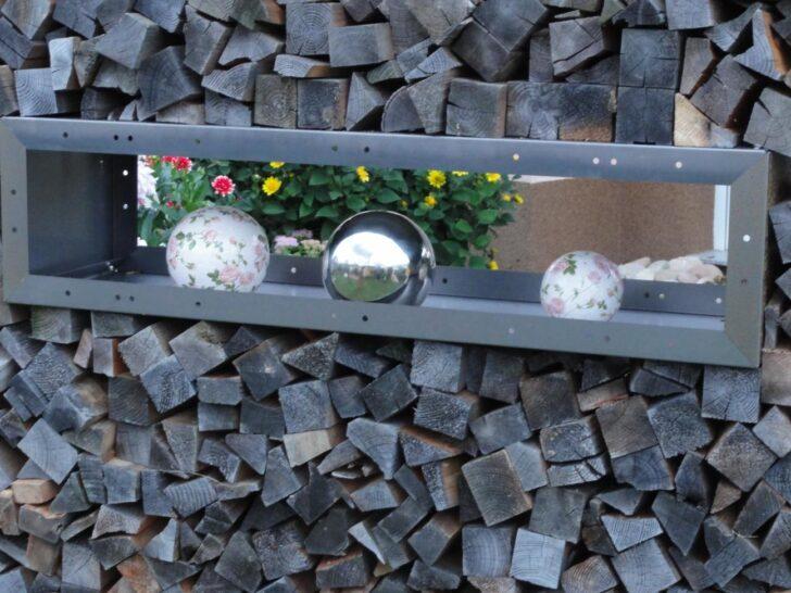 Medium Size of Holzlege Cortenstahl Fenster Kaminholzregal Ohne Rckwand 1 Wohnzimmer Holzlege Cortenstahl