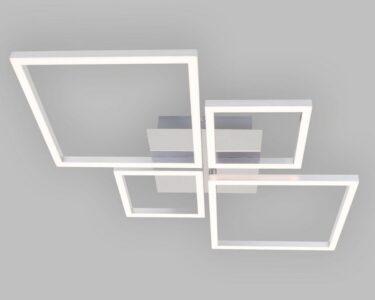 Deckenleuchte Led Wohnzimmer Briloner Leuchten Led Deckenleuchte Tobi Beleuchtung Wohnzimmer Küche Panel Badezimmer Chesterfield Sofa Leder Echtleder Deckenleuchten Schlafzimmer Modern