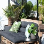 Couch Terrasse Wohnzimmer Couch Terrasse Palettensofa Bilder Ideen