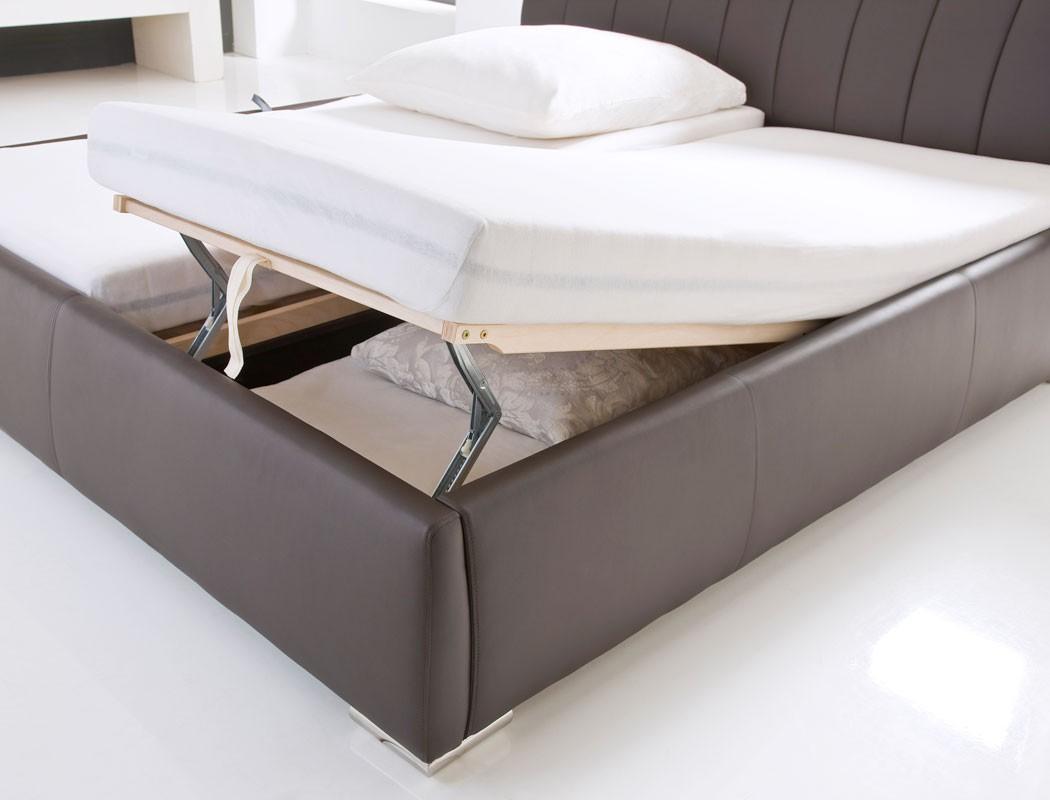 Full Size of Klappbares Doppelbett Bett Bauen Polsterbett Luanos 180x200cm Wei Lattenrost Klappbar Ausklappbares Wohnzimmer Klappbares Doppelbett