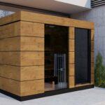 Saunahaus Modern Garten Sauna Klein Gartensauna Selber Bauen Holzofen Modernes Küche Holz Weiss Moderne Landhausküche Bilder Fürs Wohnzimmer Bett Design Wohnzimmer Saunahaus Modern