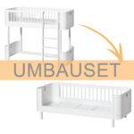 Oliver Furniture Umbauset Wood Mini Halbhohes Hochbett Zum Bett Wohnzimmer Halbhohes Hochbett