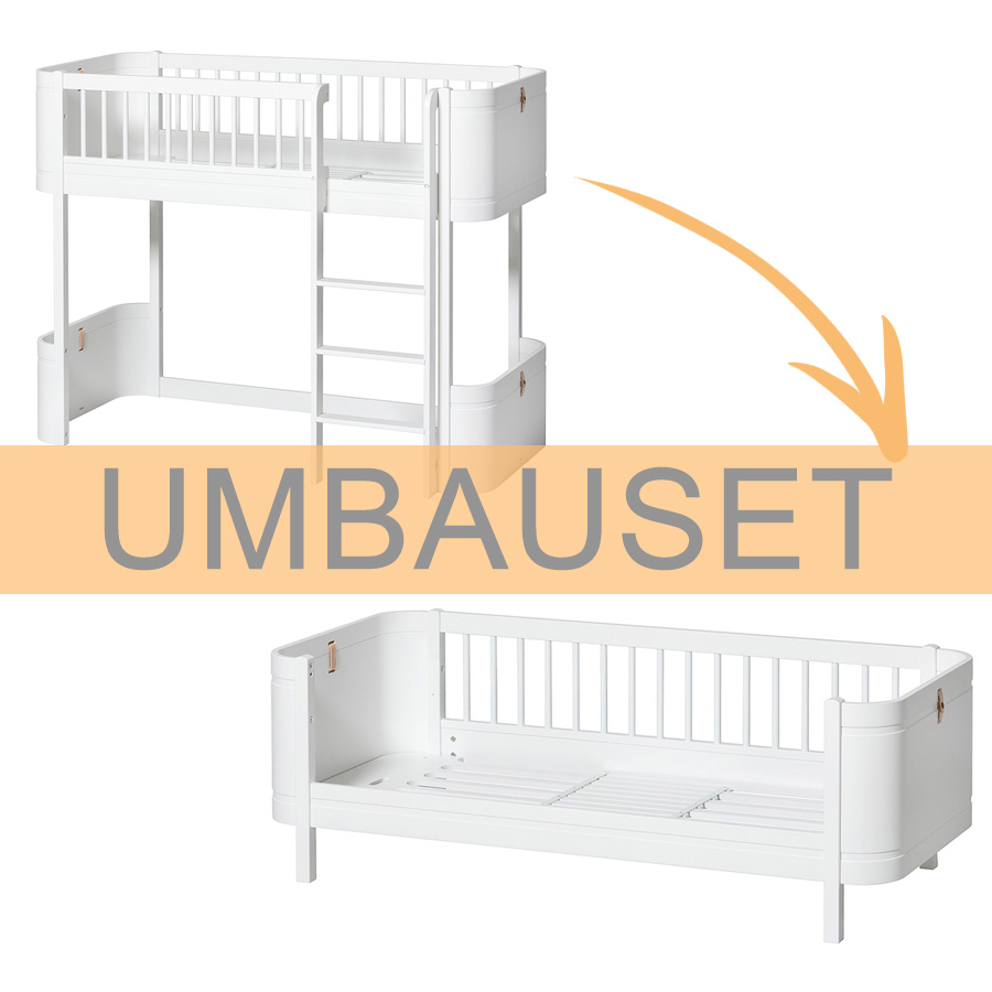 Full Size of Oliver Furniture Umbauset Wood Mini Halbhohes Hochbett Zum Bett Wohnzimmer Halbhohes Hochbett