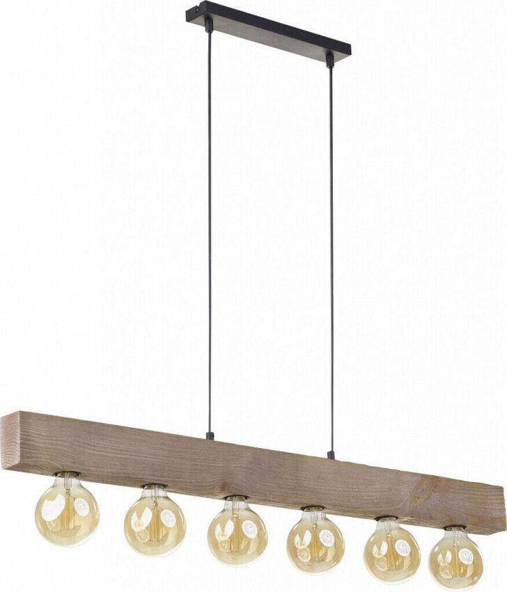 Medium Size of Pendelleuchte Eiche Holz 100cm Lang 6 Flammig Esstisch Wohnzimmer Regal Esstische Schlafzimmer Komplett Massivholz Deckenlampe Holzfliesen Bad Lampe Lampen Wohnzimmer Wohnzimmer Lampe Holz