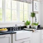 Raffrollo Kche Kchenfenster Grn Bilder Mit Theke Küche Wohnzimmer Raffrollo Küchenfenster
