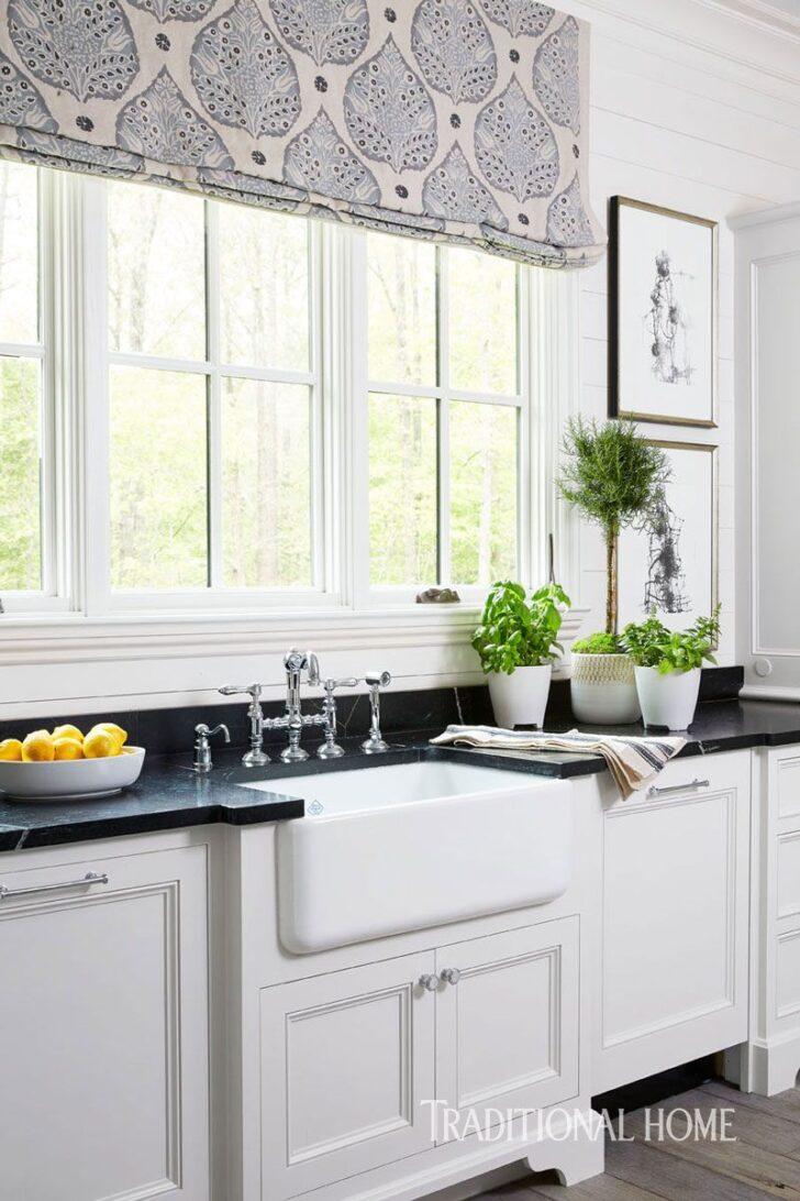 Medium Size of Raffrollo Kche Kchenfenster Grn Bilder Mit Theke Küche Wohnzimmer Raffrollo Küchenfenster