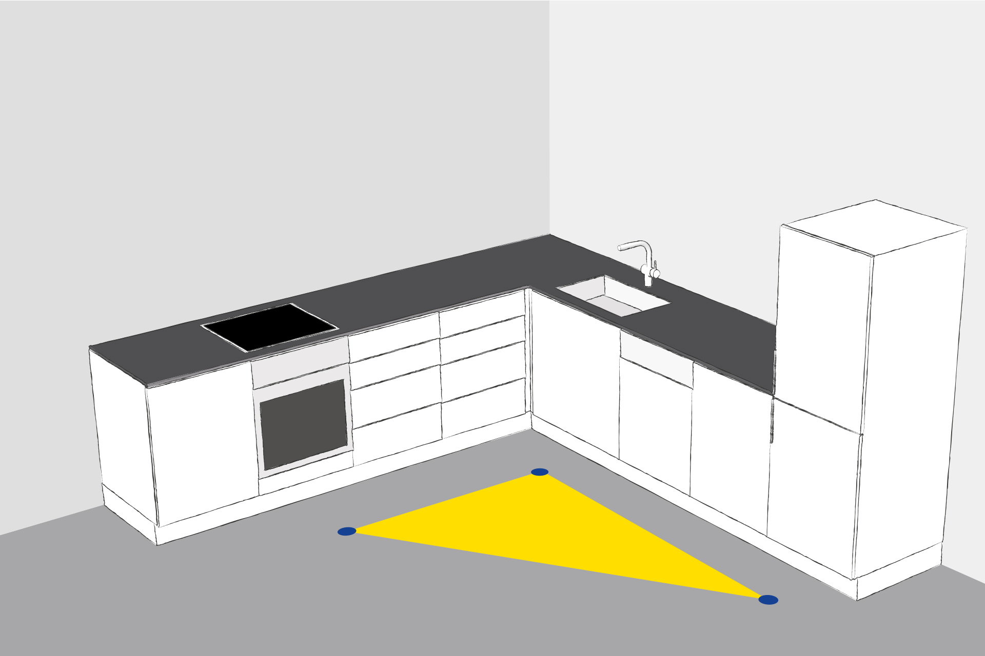 Full Size of Kchen Eckschrank Rondell Bauformat Kche Rhodos In Moonlight Küchen Regal Bad Küche Schlafzimmer Wohnzimmer Küchen Eckschrank Rondell