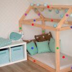 Kinderbett Diy Selber Bauen Detaillierte Bauanleitung Kuschelhaus Wohnzimmer Kinderbett Diy