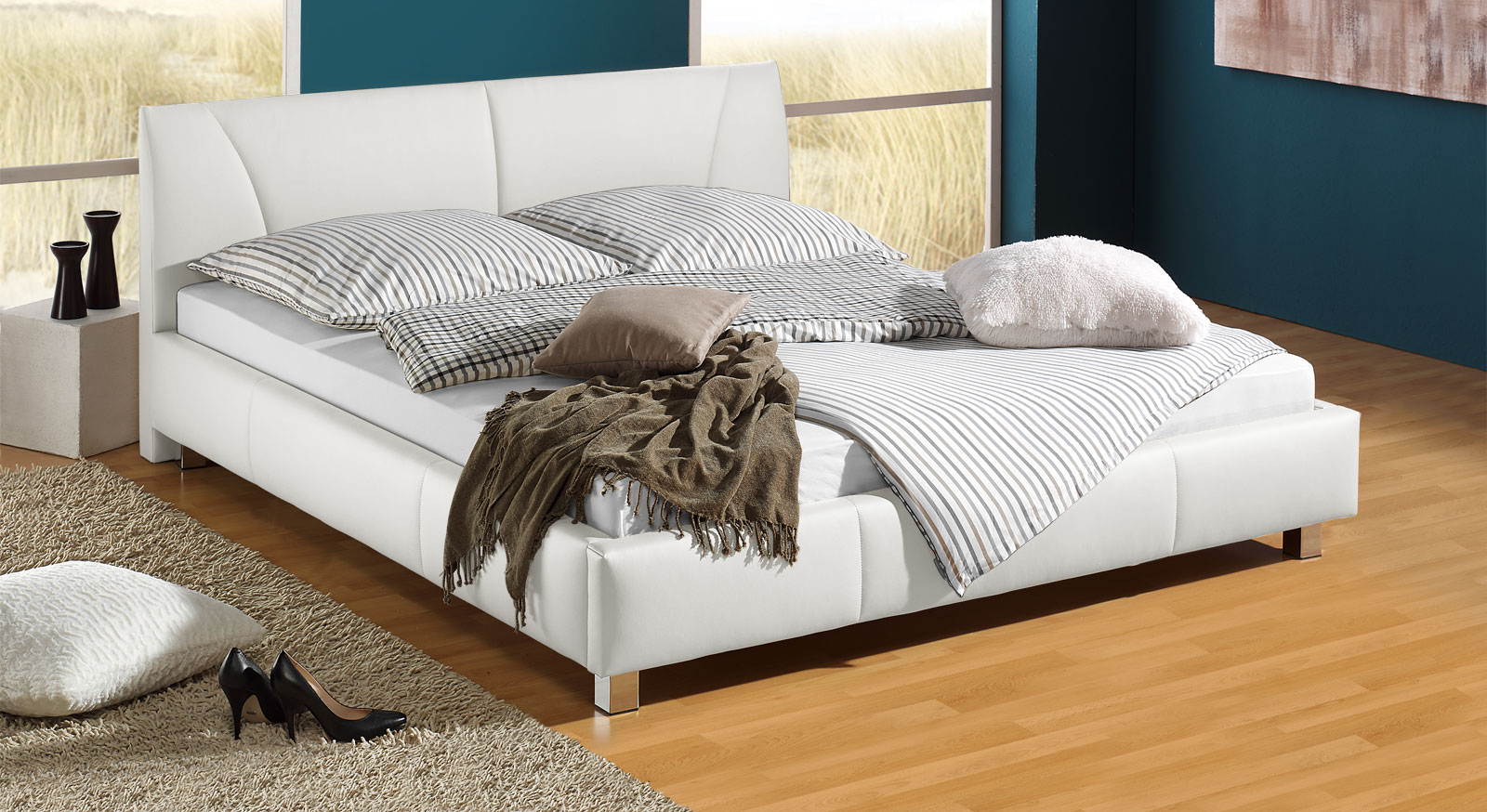 Full Size of Polsterbett 200x220 Gnstiges Z B In Wei 140x200 Cm Sona Bett Betten Wohnzimmer Polsterbett 200x220