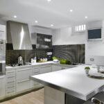 Küche Edelstahl Wohnzimmer Moderne Edelstahlkche Einbauküche Mit E Geräten Salamander Küche Mischbatterie Zusammenstellen Laminat Für Schwarze Edelstahlküche Gebraucht Billig Kaufen