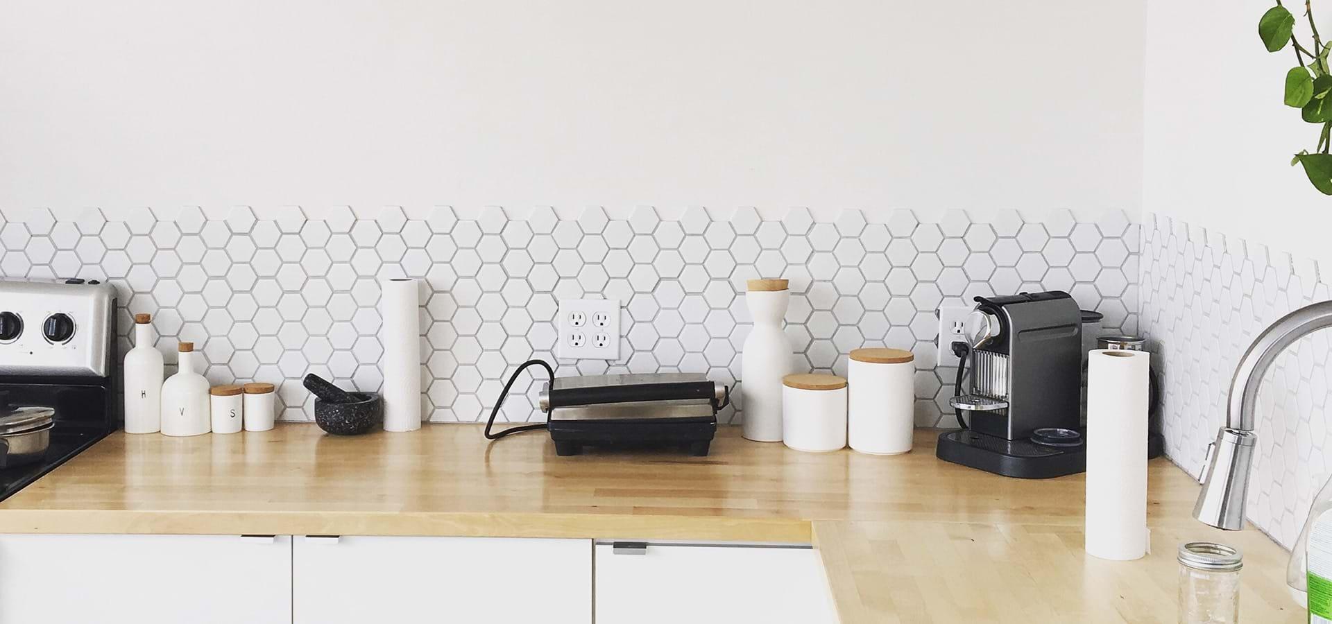 Full Size of Kchenrckwand Tipps Bonava Fliesenspiegel Küche Glas Selber Machen Küchen Regal Wohnzimmer Küchen Fliesenspiegel