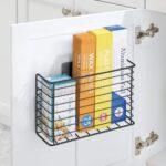 Amazonde Mdesign Affixkchenutensilien Aufbewahrung Aufbewahrungssystem Küche Betten Mit Aufbewahrungsbehälter Bett Aufbewahrungsbox Garten Wohnzimmer Aufbewahrung Küchenutensilien