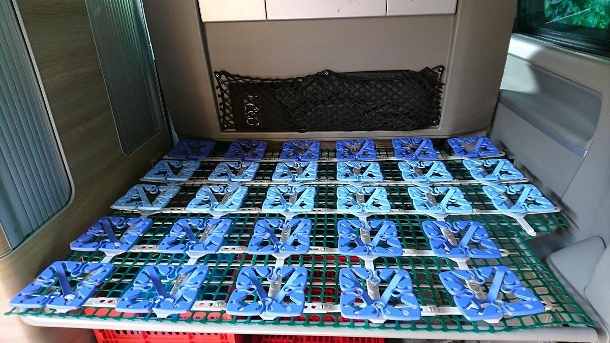 Full Size of Lattenrost Klappbar Ikea Das Perfekte Bettsystem Fr Den Vw California Kleiner Küche Kosten Bett 90x200 Mit Sofa Schlaffunktion 160x200 Und Matratze Kaufen Wohnzimmer Lattenrost Klappbar Ikea