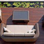 Couch Terrasse Wohnzimmer Outdoor Lounge Sofa Kollektion Breeze Bloom Mbel