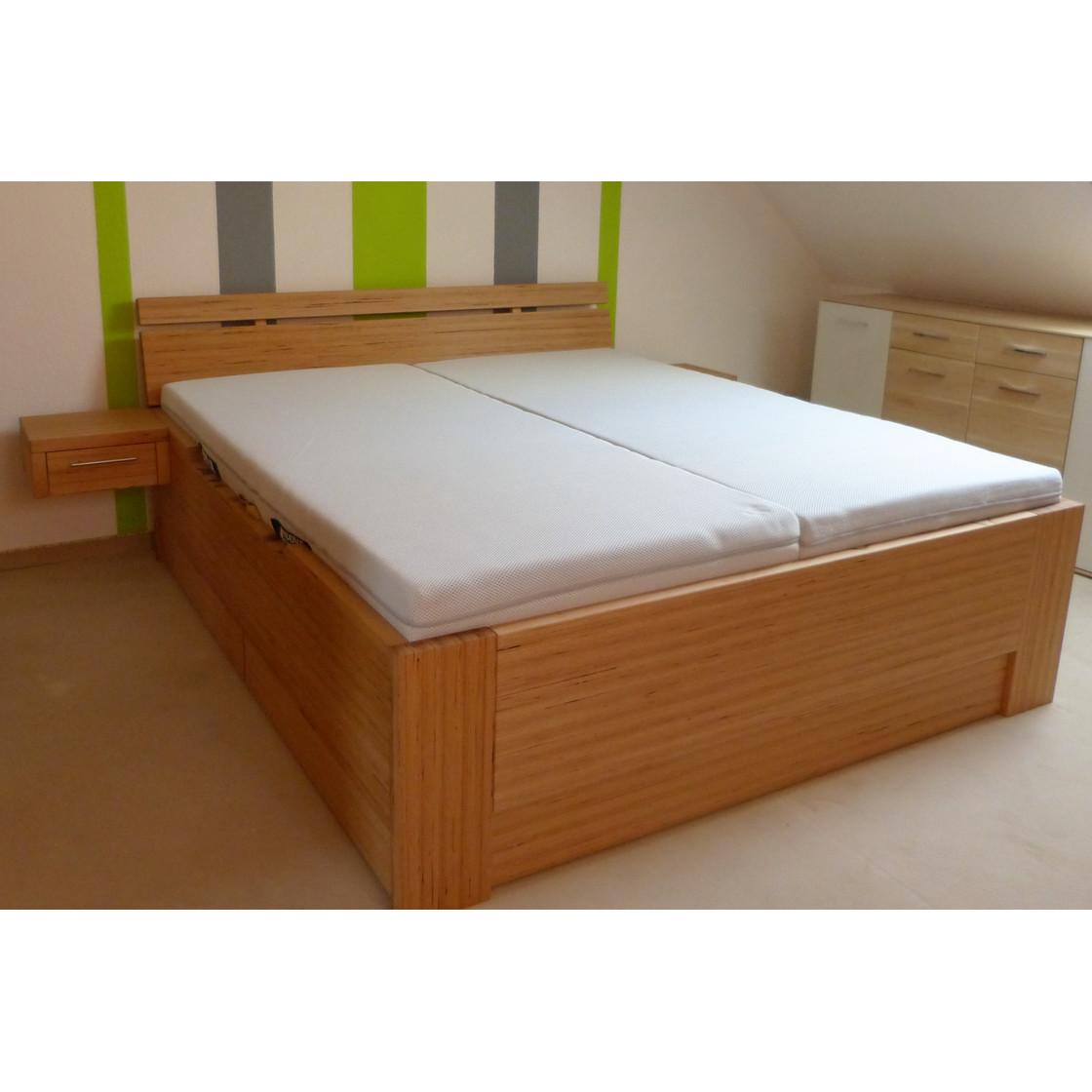 Full Size of Klappbares Doppelbett Massivholzbett Stauraumwunder Weissensee Mw Ausklappbares Bett Wohnzimmer Klappbares Doppelbett
