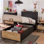Kinderbett Stauraum 100x200 Mit Online Kaufen Furnart Bett 160x200 Betten 200x200 140x200 Wohnzimmer Kinderbett Stauraum