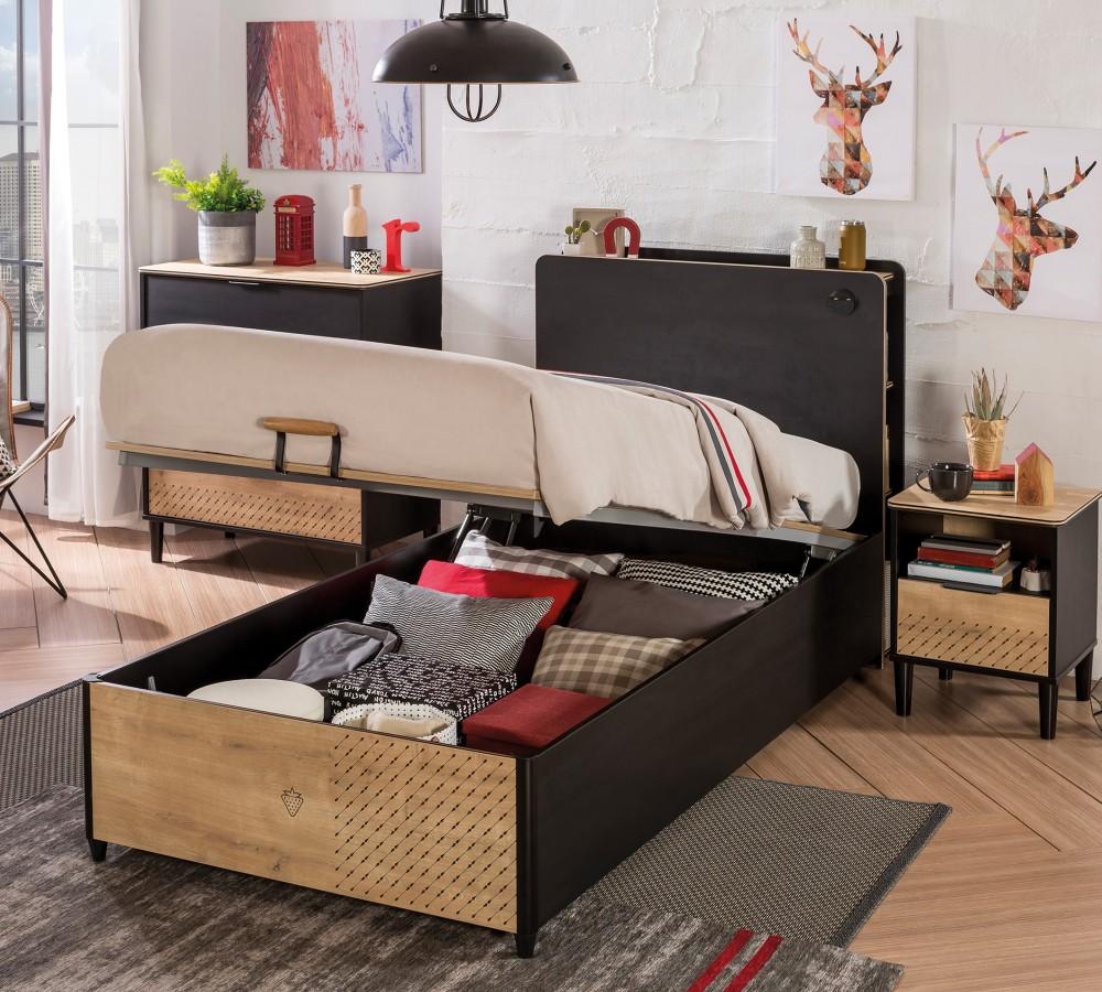 Full Size of Kinderbett Stauraum 100x200 Mit Online Kaufen Furnart Bett 160x200 Betten 200x200 140x200 Wohnzimmer Kinderbett Stauraum