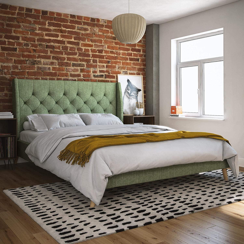 Full Size of Ikea Pappbett Novogratz Her Majesty Upholstered Bed Betten Bei Modulküche Miniküche Küche Kosten Kaufen 160x200 Sofa Mit Schlaffunktion Wohnzimmer Pappbett Ikea