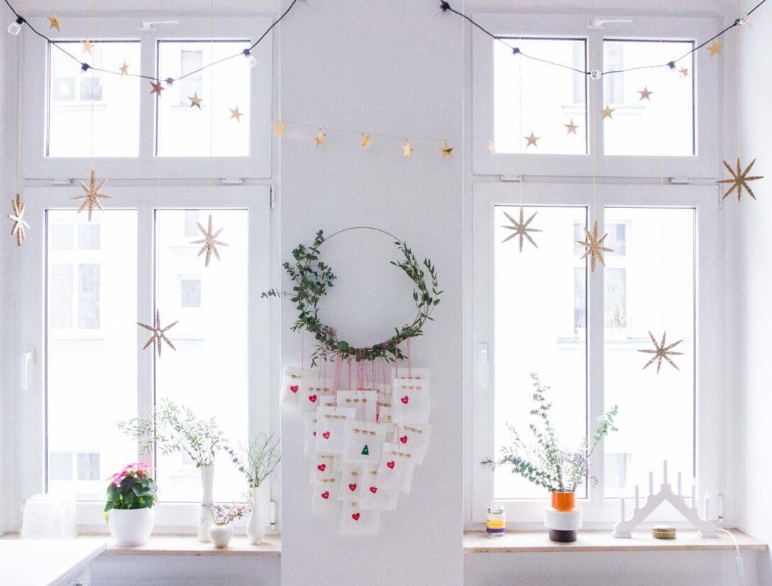 Large Size of Gardinen Doppelfenster Fensterdeko Schne Ideen Zum Dekorieren Küche Schlafzimmer Fenster Für Die Scheibengardinen Wohnzimmer Wohnzimmer Gardinen Doppelfenster