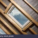 Veludachfenster Stockfotos Bilder Alamy Velux Fenster Einbauen Kaufen Rollo Ersatzteile Preise Wohnzimmer Velux Scharnier