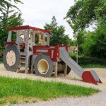 Klettergerüst Indoor Diy Fr Alle Traktor Fans Ein Muss Der Originelle Kleinkind Garten Wohnzimmer Klettergerüst Indoor Diy
