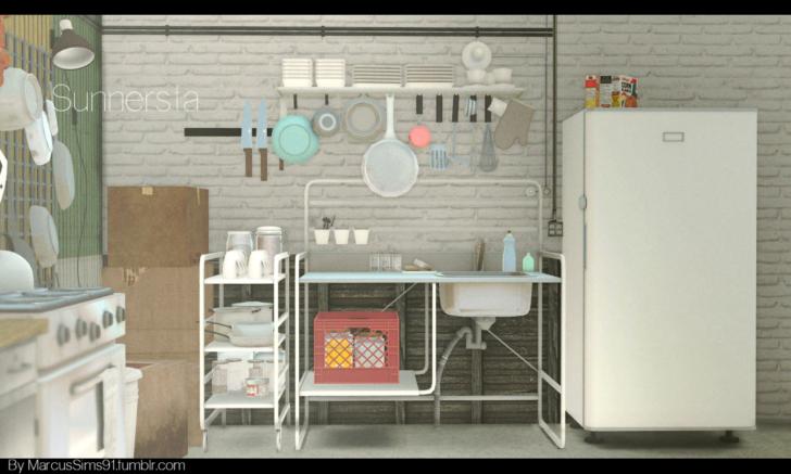 Medium Size of Sunnersta Ikea Heres A Kitchen Set I Threw Together Betten 160x200 Sofa Mit Schlaffunktion Küche Kosten Miniküche Modulküche Kaufen Bei Wohnzimmer Sunnersta Ikea