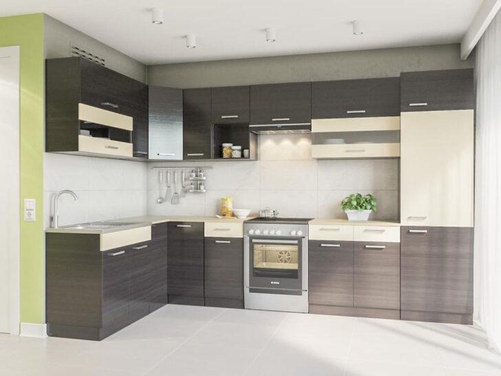 Medium Size of Real Küchen Winkelkche Alina 330x170 Wenge L Form Kchenzeile Regal Wohnzimmer Real Küchen