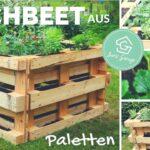 Hochbeet Aus Paletten Selber Bauen Diy Ratgeber 2020 Wohnzimmer Bauanleitung Bauplan Palettenbett