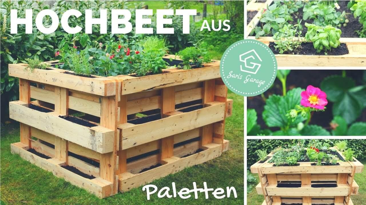 Full Size of Hochbeet Aus Paletten Selber Bauen Diy Ratgeber 2020 Wohnzimmer Bauanleitung Bauplan Palettenbett