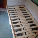 Ausziehbett Camper Wohnzimmer Diy Camper Couch Bed With Storage Photo 2 Umgebaute Wohnmobile Bett Mit Ausziehbett
