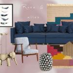 Wandfarbe Rosa Wohnzimmer Wandfarbe Rosa Wohnen In Kombination Mit Jane Wayne News Küche