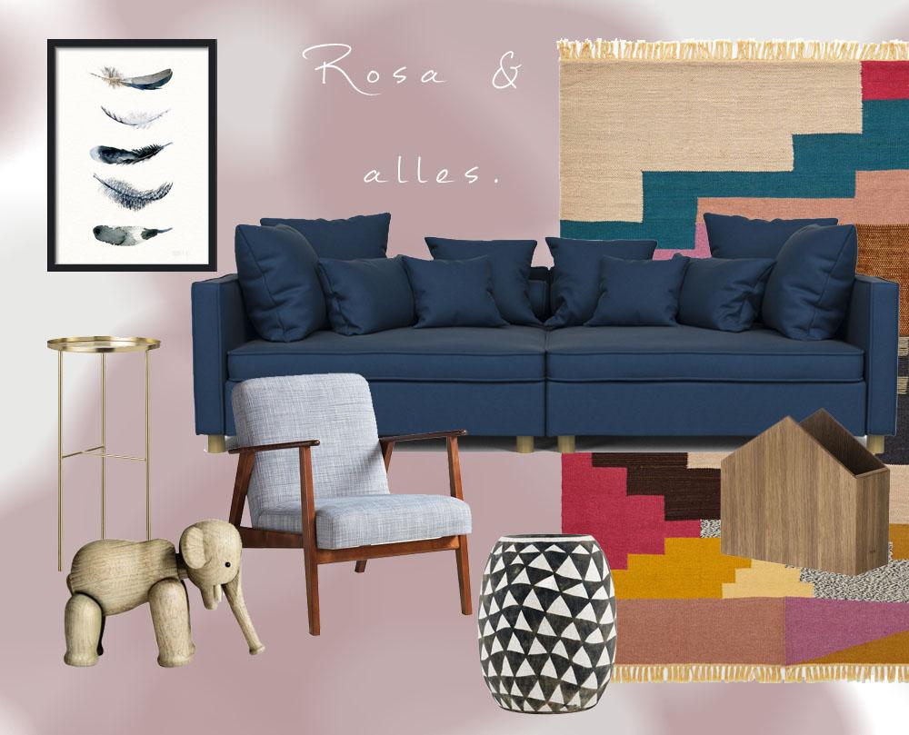 Full Size of Wandfarbe Rosa Wohnen In Kombination Mit Jane Wayne News Küche Wohnzimmer Wandfarbe Rosa