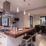 Wohnzimmer Küchenabluft