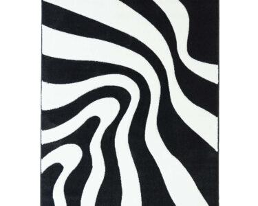 Teppich Schwarz Weiß Wohnzimmer Teppich Schwarz Weiß Mit Konturenschnitt Moda 1452 Flachflor Schlafzimmer Komplett Esstisch Ausziehbar Schwarze Küche Kleines Regal Oval Bad Bett 140x200